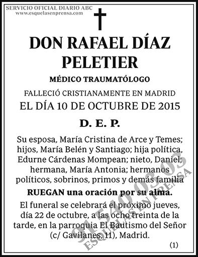 Rafael Díaz Peletier